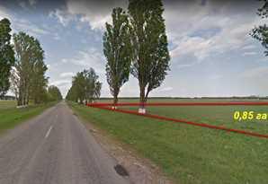 Продам земельный участок с. Чубинское Бориспольский р-н. 0,85 га.