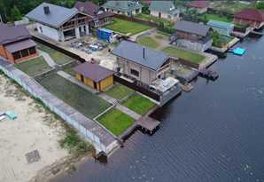 Загородный дом на берегу Днепра со всеми коммуникациями!Без комиссии